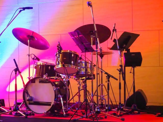 drums-onstage