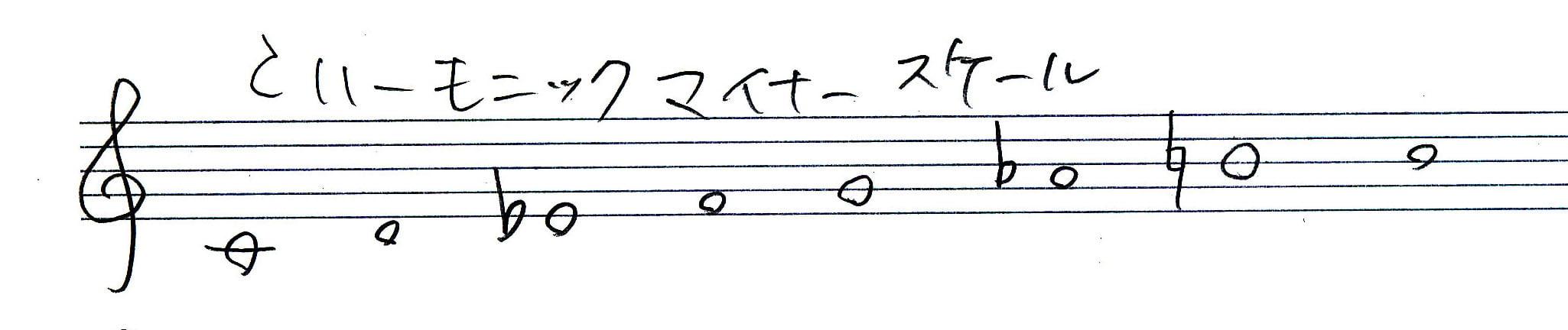 c-harmonic-minor
