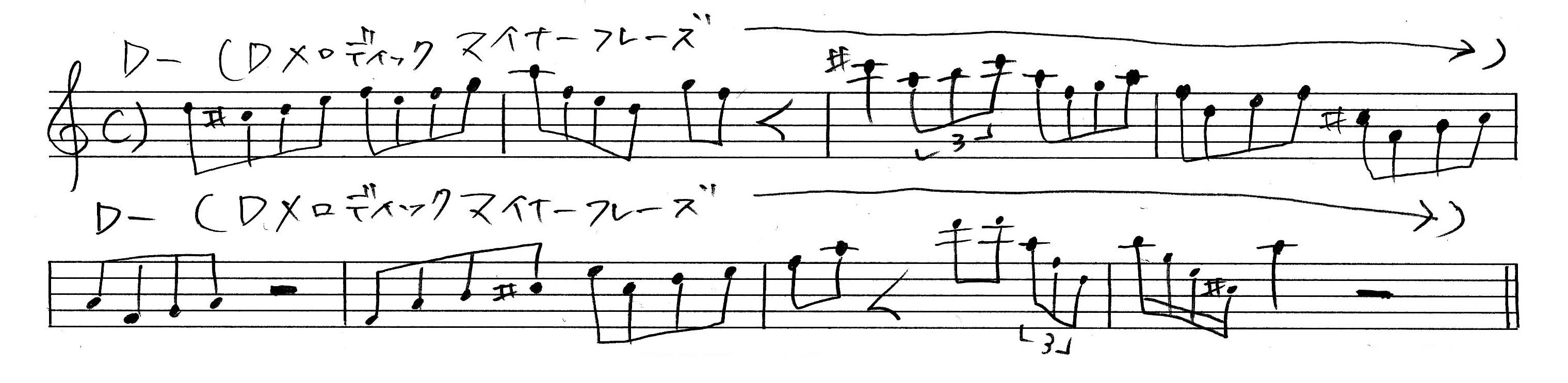a7-dmelodic-minor