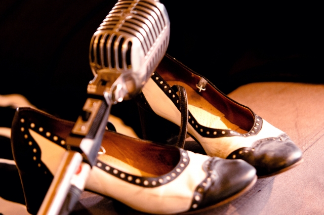 shoes-mic