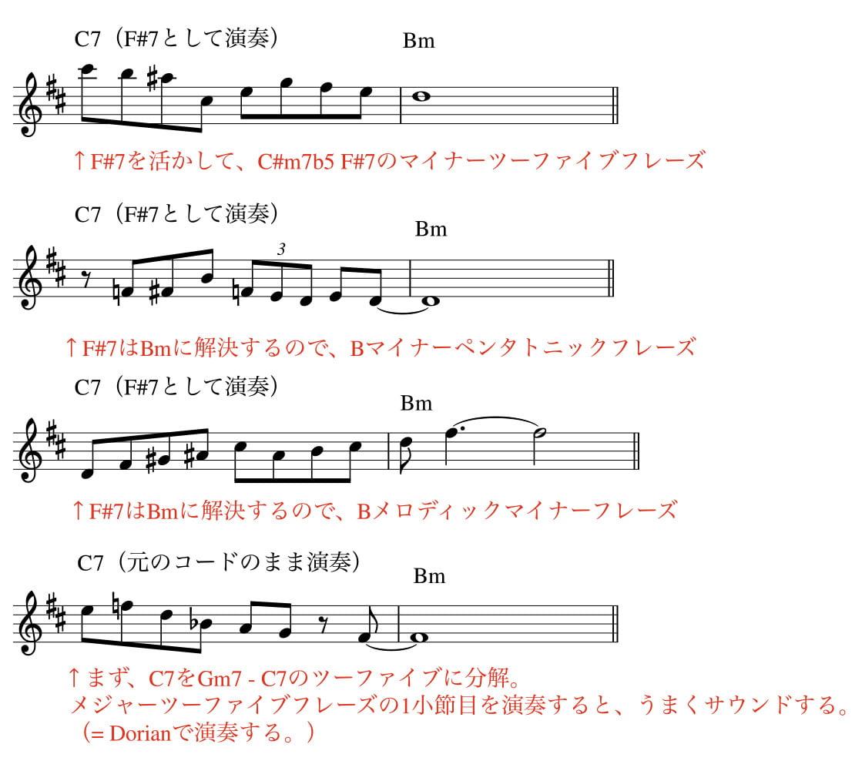 裏コード-Eb